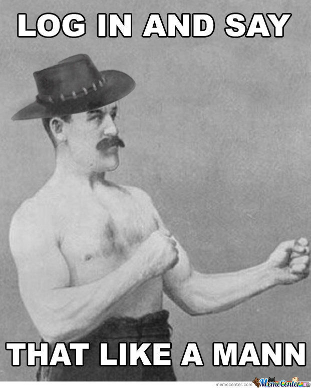 Overly Manly Mann