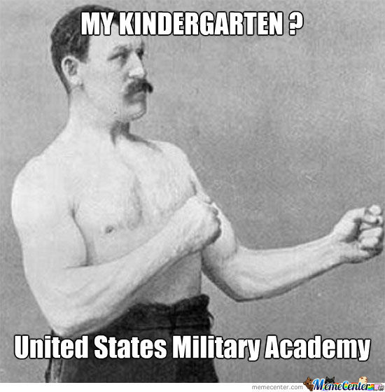 Overly Manly Man's Kindergarten