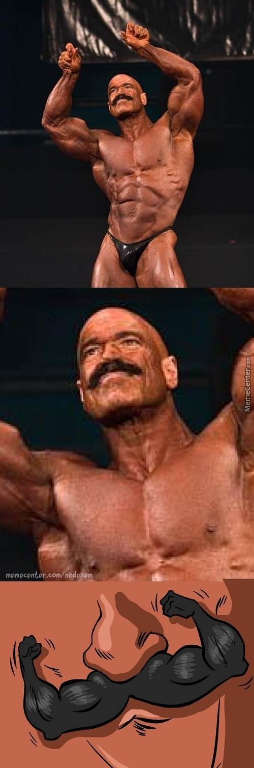 Overly Manly Moustache