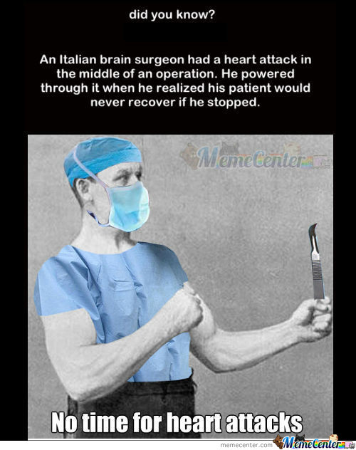 Overly Manly Surgeon