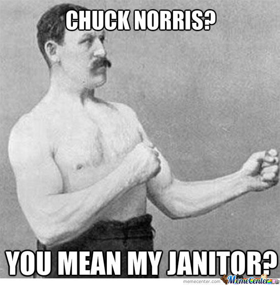 Overly Overly Manly Man