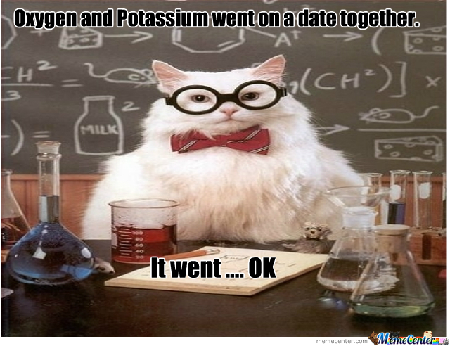 Oxygen And Potassium