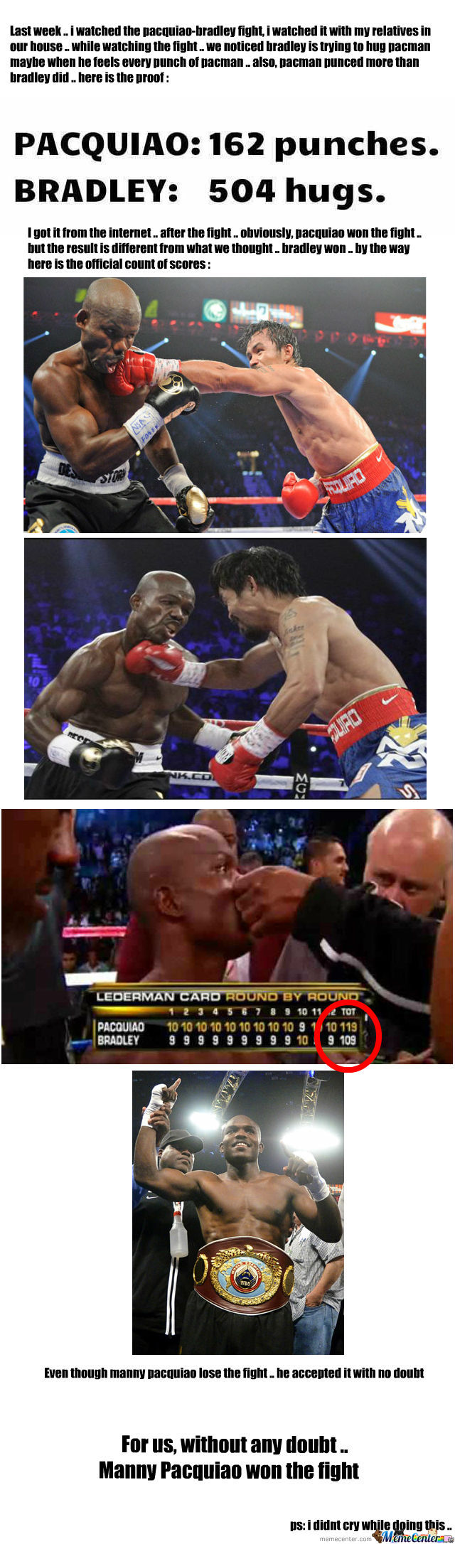 Pacquiao-Bradley Verdict Is Epic Fail