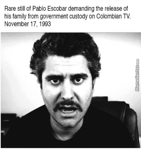 Papa Pablo, King Of Cocaine And Dank Memes
