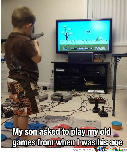 Parenting Level: Gamer!!
