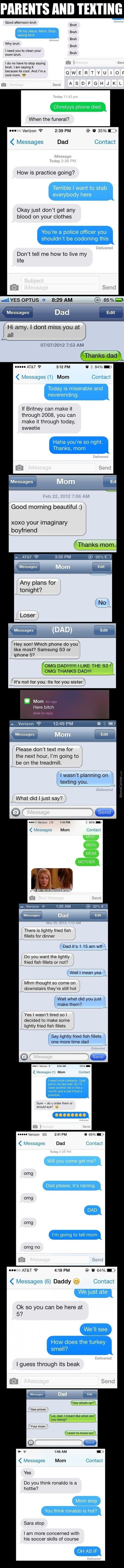 Parents Can Be Lame