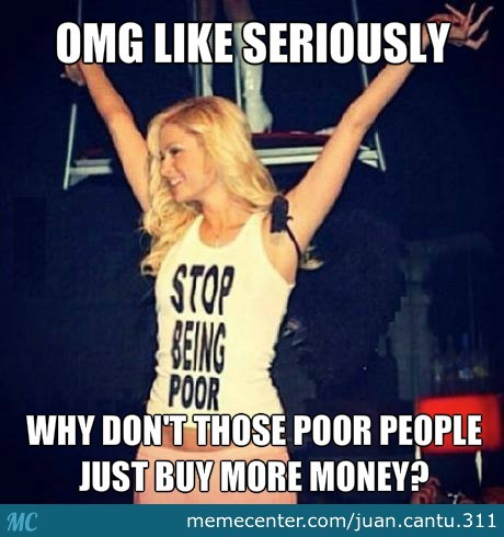 Paris Hilton's Flawless Solution To End Poverty