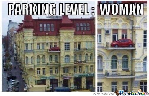 Parking Level:woman