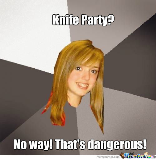 Partying With Knives