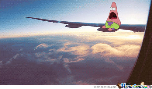 Patrick Is Afraid Of Planes