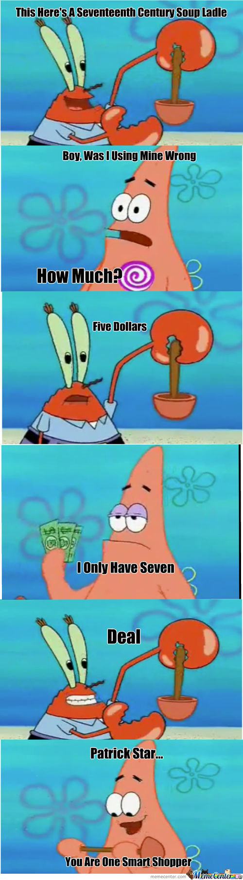 Patrick Star Smart Shopper