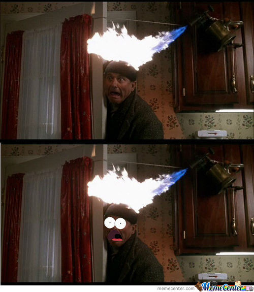 Patrick Surprise In Home Alone 1