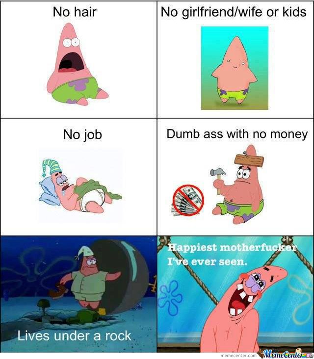 Patrick The Happiest Motherf**ker In The Sea