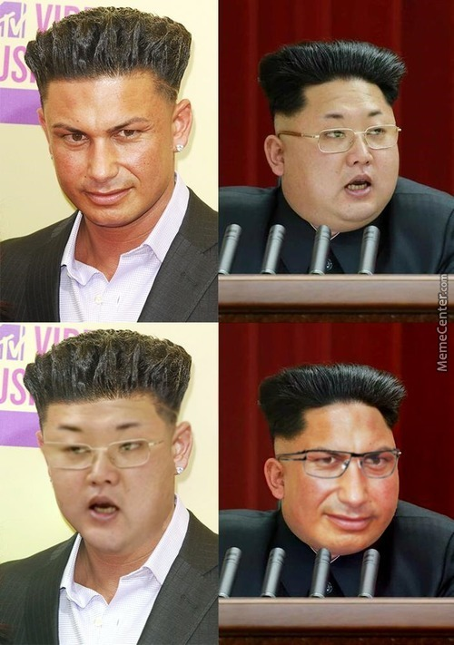 Pauly D And Kim Jong Un Looks Similar