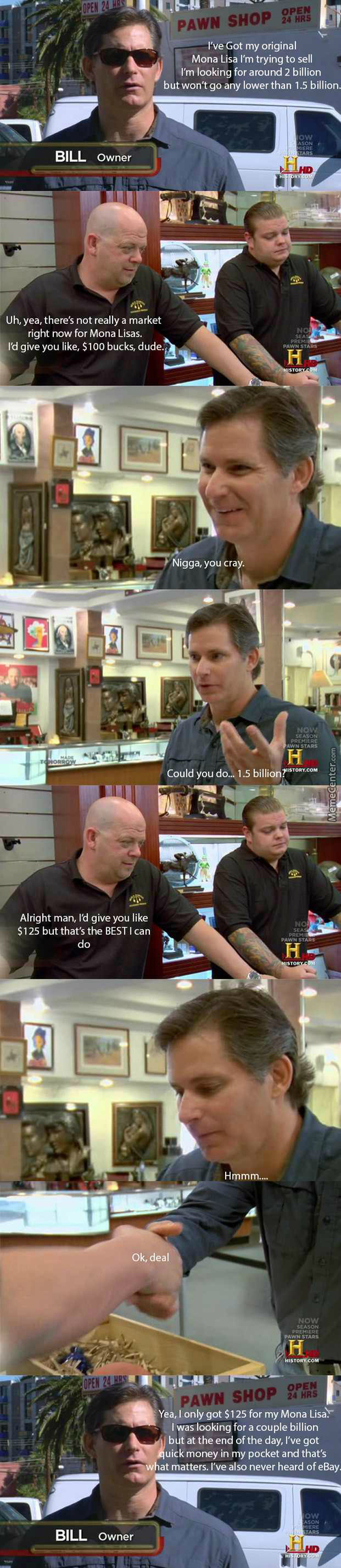 Pawn Stars Be Like