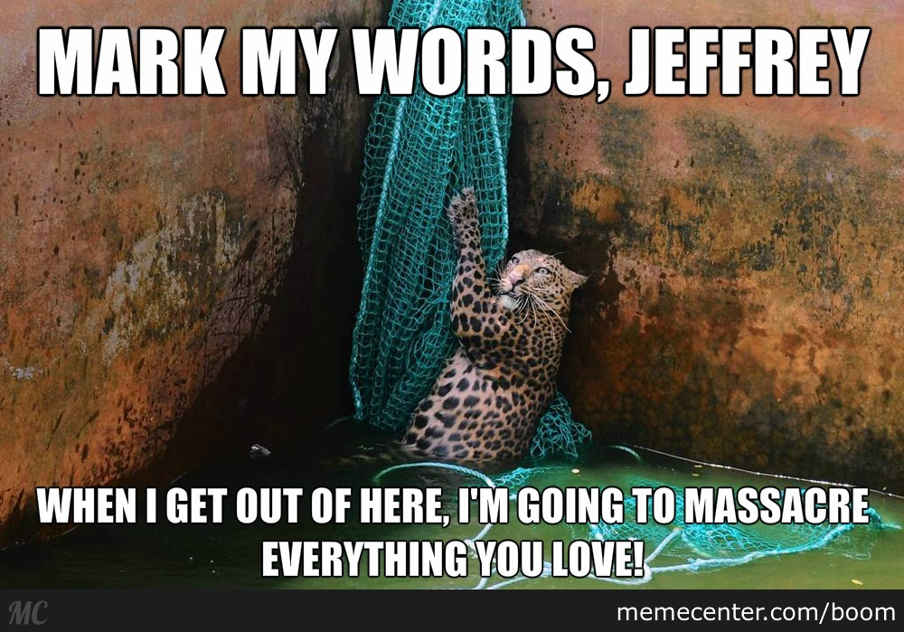 Pay Heed, Jeffrey