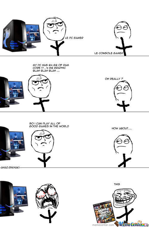 Pc Gamers Problem These Days