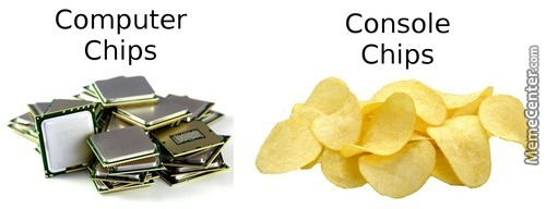 Pc Vs Console Chips