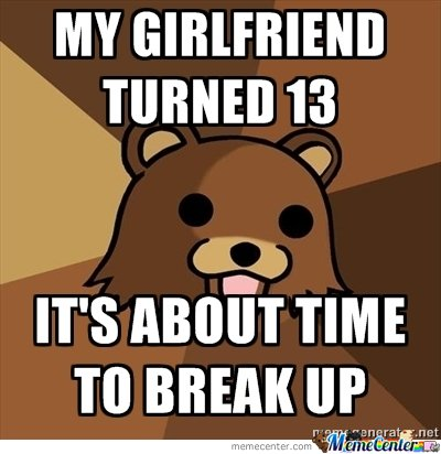 Pedo Bear - Girlfriend