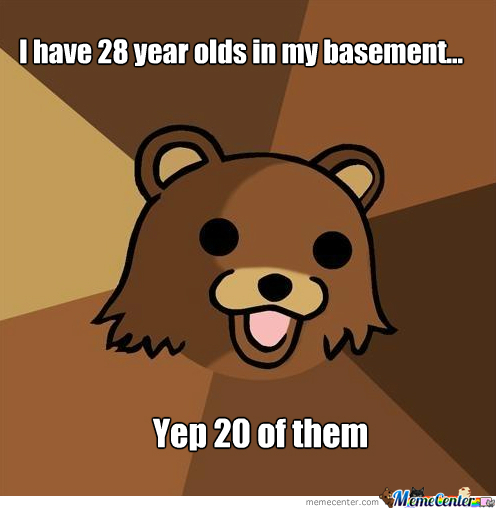 Pedo Bear 28 Year Olds