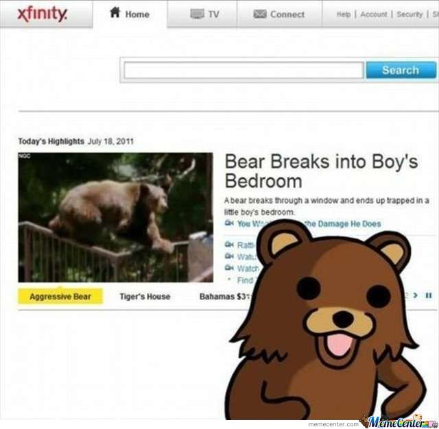 Pedo Bear Back