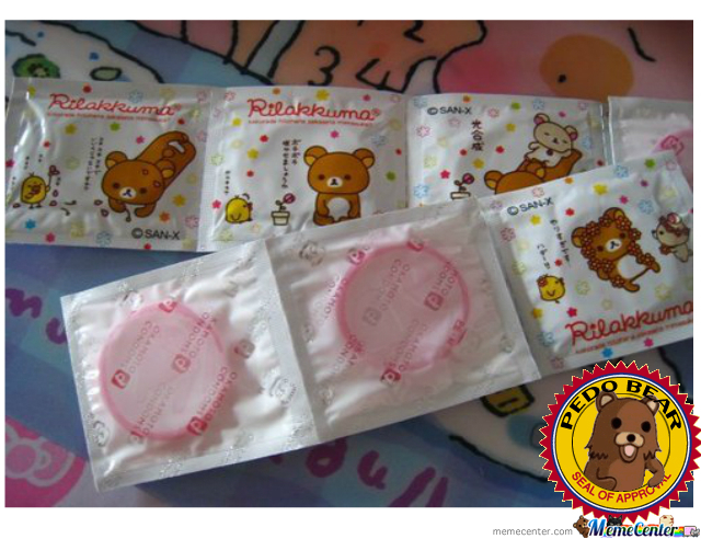 Pedo Bear Condoms