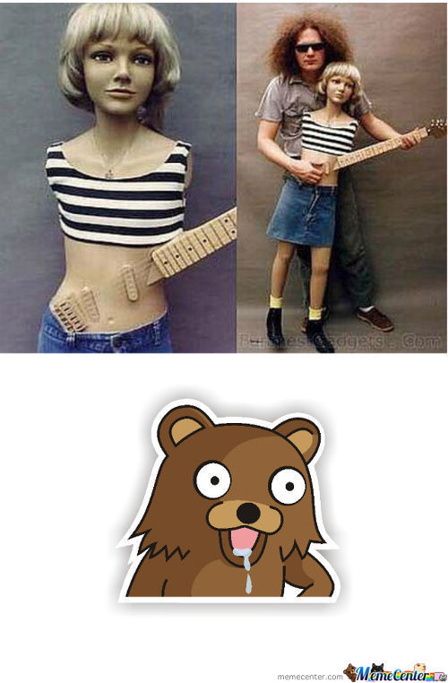 Pedo Bear Guitar