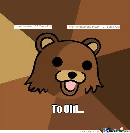 Pedo Bear On Meme Center