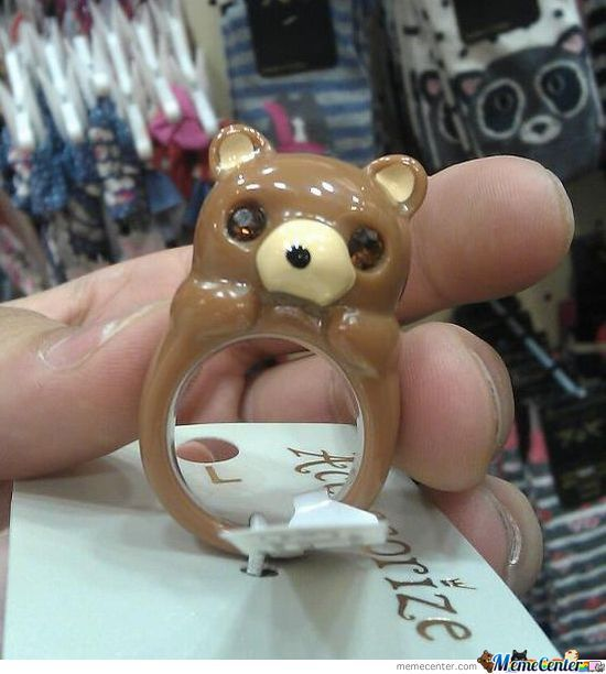 Pedo Bear Ring
