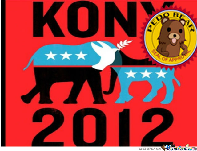 Pedobear Apporves Of Kony 2012