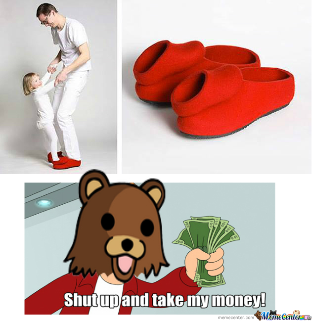Pedobear Dancing Shoes ...