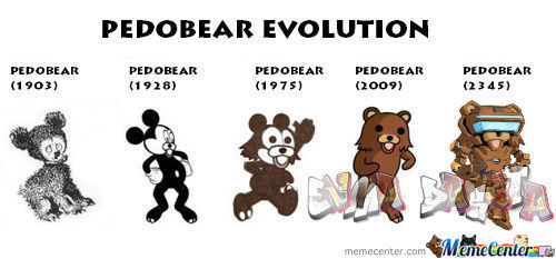 Pedobear Evolotion