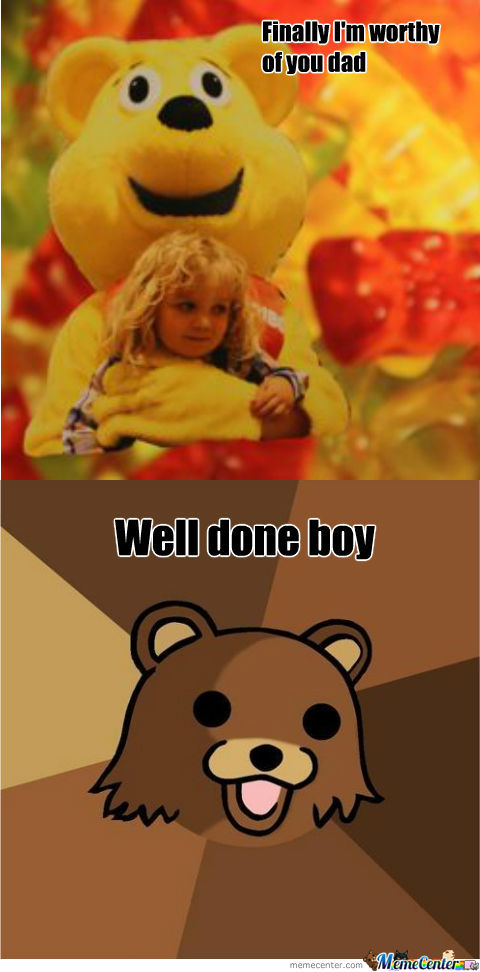 Pedobear Has A Son
