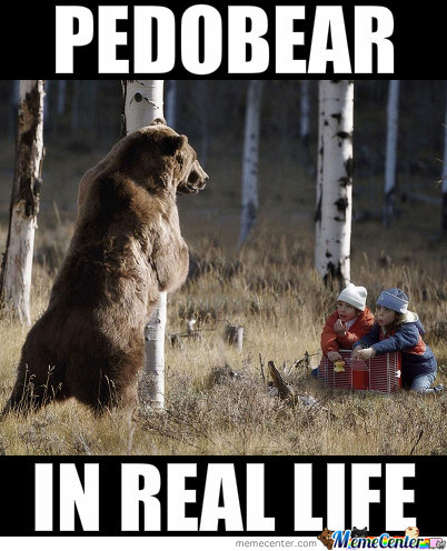 Pedobear In Real Life