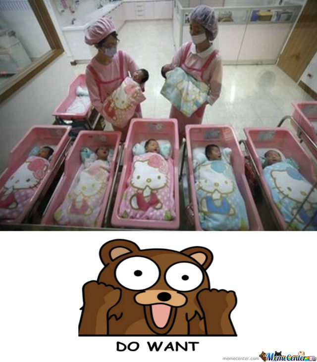 Pedobear Level: Maternity Hospital Stalker