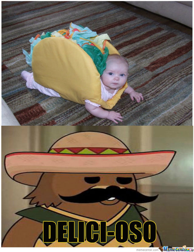Pedobear Loves His Taco's