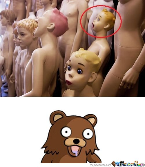 Pedobear Sex Doll