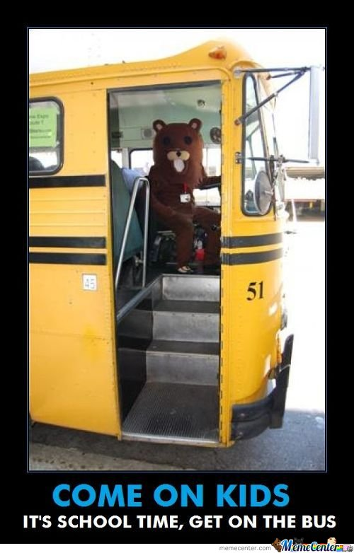 Pedobear, You New Driver