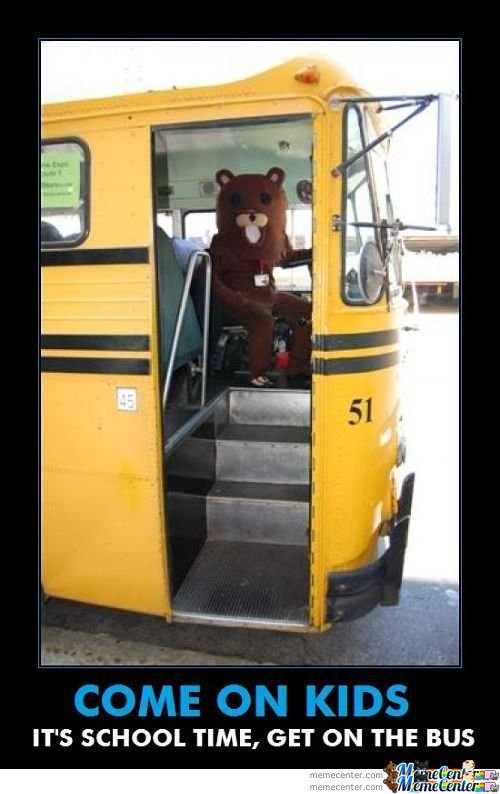 Pedobear, Your New Driver