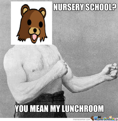 Pedobear's Lunchroom