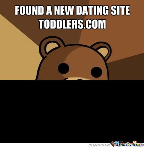 Pedobears New Dating Site