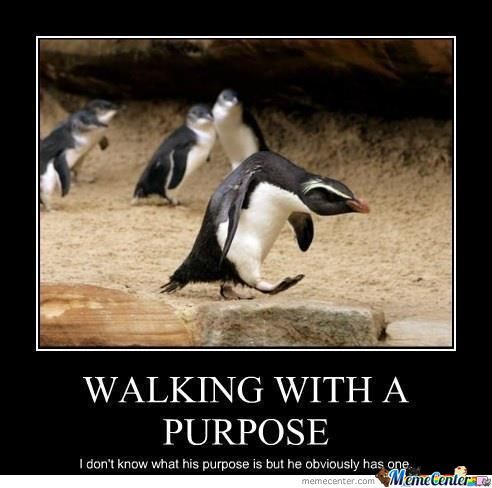 Penguin Purpose