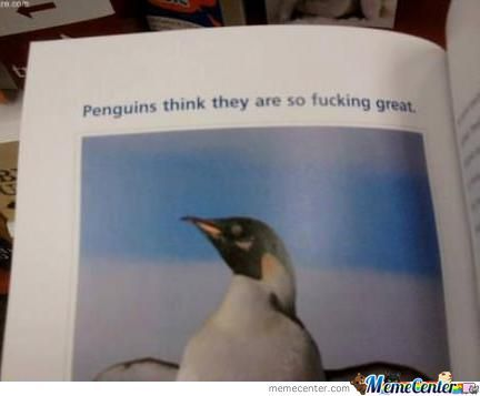 Penguins...