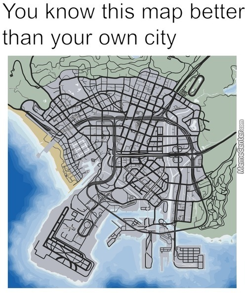 People Already Started Using This Map Instead Of Gta San Andreas .... I Am Getting Old