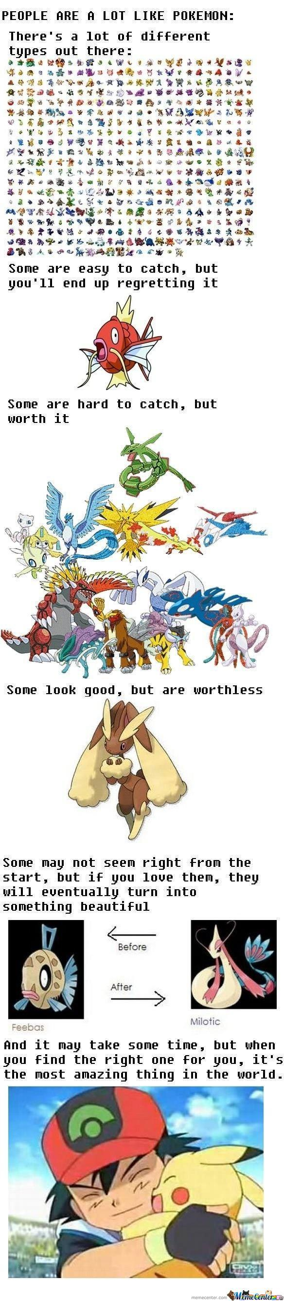 People And Pokemon (Not Mine)