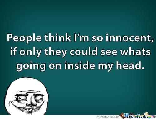 People Think.......