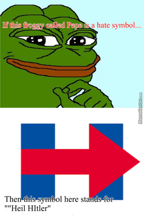 Pepe Is Not A Hatesymbol