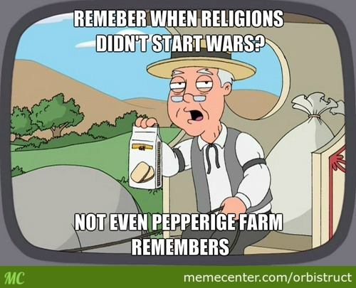 Pepperidge Farm Talks About Religions