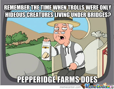 Pepperidge Sure Remembers Everything
