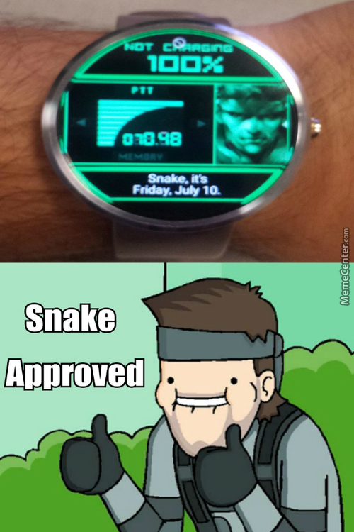 Perfect For Metal Gear Solid Fans